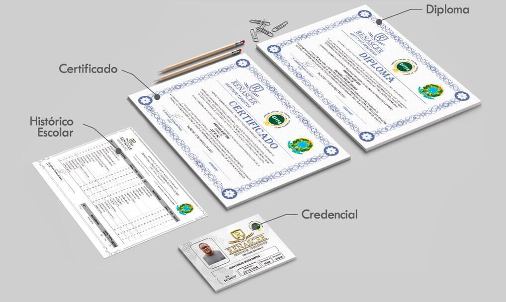 Certificados Bacharel em Teologia